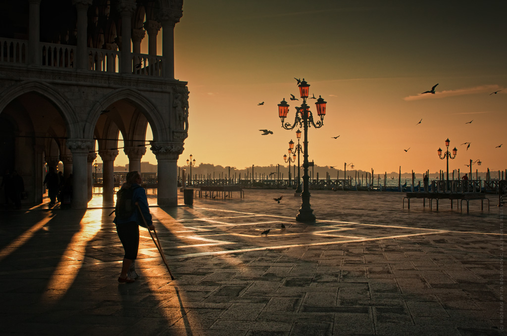Palazzo Ducale, Piazzetta di San Marco, Venice by Miodrag mitja Bogdanovic